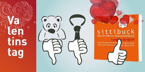 sittibuck - Geschenkidee zum Valentinstag. geschenk für Erlebnisse zu zweit für Verliebte.
